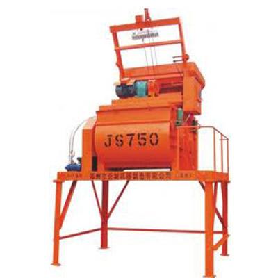 Trạm trộn bê tông JS750 dung tích 750 lít